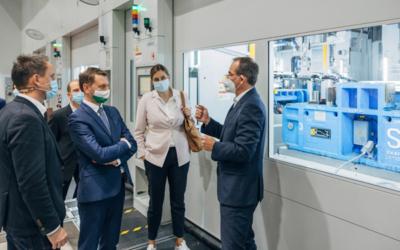Volkswagen nimmt die Erweiterung des Presswerks in Zwickau in Betrieb