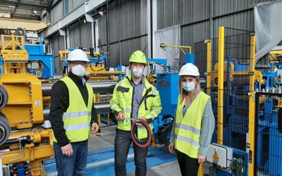thyssenkrupp Materials Processing eröffnet Schmalbandcenter für Edelstahl in Mannheim