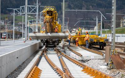 voestalpine Railway Systems liefert Hochgeschwindigkeitsweichen für zwei Tunnelprojekte
