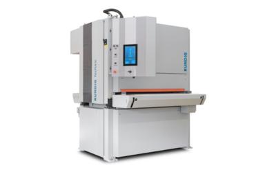 Schleifmaschine zur Bearbeitung von Hygiene-Edelstahloberflächen
