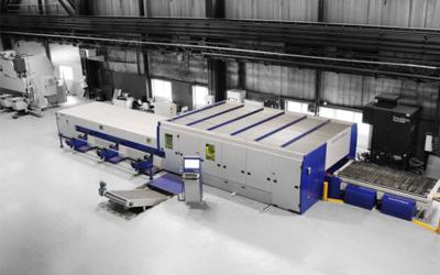 Ilsenburger Grobblech führt Schneidversuche für zwei neue Stahlsorten bei MicroStep durch