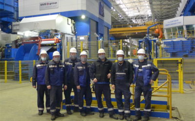 MMK walzt erstes Coil auf der modernisierten zweigerüstigen Kaltwalzanlage