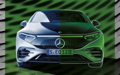 Mercedes-Benz bringt ab 2025 Fahrzeuge mit grünem Stahl auf den Markt