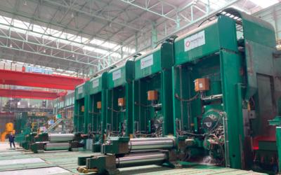 Arvedi-ESP-Linie von Primetals produziert ersten Bund für Stahlkomplex in Hebei