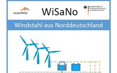 """ArcelorMittal veröffentlicht neue Studie """"Windstahl aus Norddeutschland"""" (WiSaNo)"""
