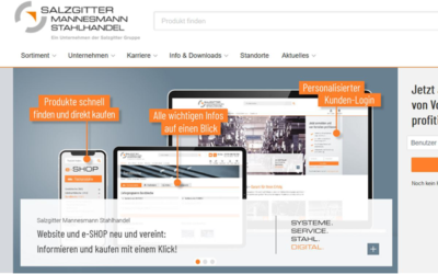 Salzgitter AG: Neue Onlineplattform des Stahlhandels