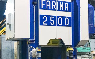 Benevenuta investiert in 2.500-Tonnen-Schmiedepresse von Farina
