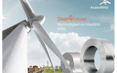 Steel4Future: ArcelorMittal Germany veröffentlicht seinen Nachhaltigkeitsüberblick 2020