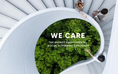 """Andritz präsentiert Nachhaltigkeitsprogramm """"We Care"""""""