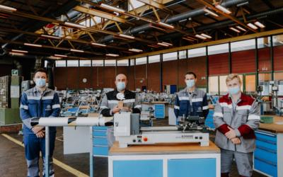 thyssenkrupp: Azubis erhalten den Sicherheitspreis der Berufsgenossenschaft