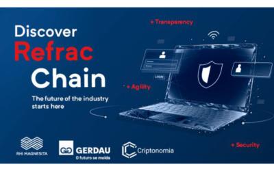 Kooperation zwischen RHI Magnesita und Gerdau bei der Nutzung von Blockchain