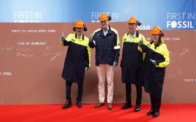 HYBRIT: SSAB liefert ersten fossilfreien Stahl
