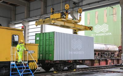 RHI Magnesita weiht neuen Container-Terminal ein