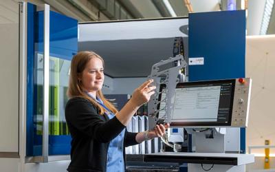 Blechexpo: Trumpf zeigt Technologien für effizientere Blechbearbeitung