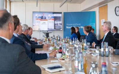 Nordrhein-Westfalen: Zweites Spitzengespräch Wasserstoff
