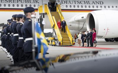 Salzgitter: Gunnar Groebler begleitet Bundespräsident Steinmeier nach Schweden