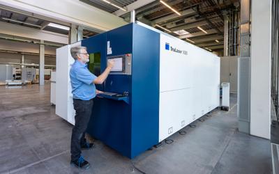 Trumpf präsentiert neue 2D-Laserschneidmaschine für Einsteiger