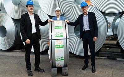 BSH Hausgeräte setzt erstmals auf grünen Stahl von Salzgitter